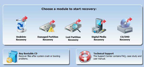 recuperación de datos minitool