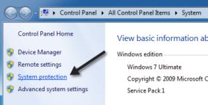 ¿Faltan puntos de restauración del sistema en Windows?