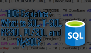 ¿Qué es SQL, T-SQL, MSSQL, PL / SQL y MySQL?