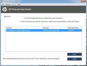 Utilice HP Print and Scan Doctor para solucionar problemas comunes de la impresora