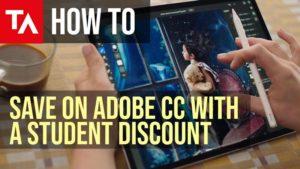 Cómo obtener descuento de estudiante de Adobe Creative Cloud