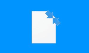 Las carpetas de Windows 10 tienen dos flechas azules