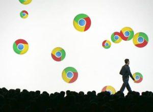 Flashes de pantalla de Chrome