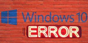 Windows 10: corregir el error 0x8000FFFF