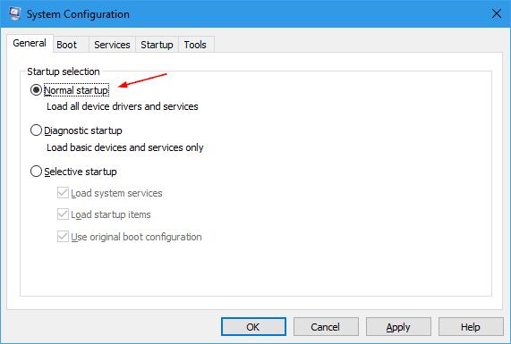 Configuración del sistema 2016 11 23 21 42 47 - Cómo limpiar el arranque en Windows 10 sin todos los programas de inicio y los servicios de terceros deshabilitados
