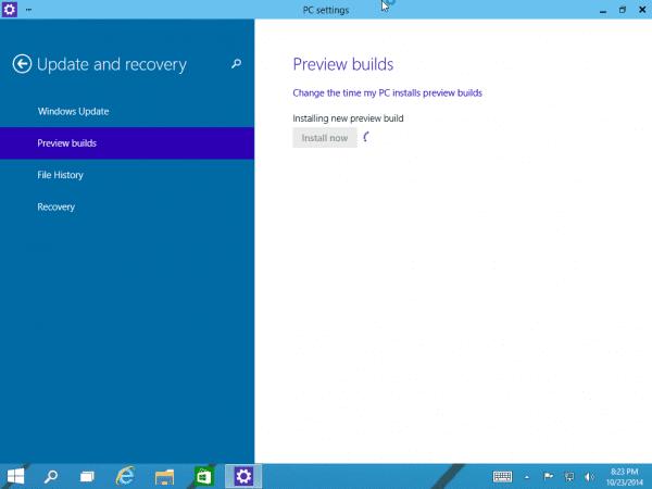 2014 10 23 2023001600x450 - Cómo descargar la vista previa técnica de Windows 10 Primera actualización importante con el nuevo Centro de acción (notificación)