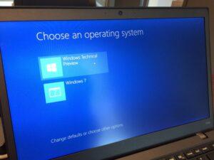 Arranque VHD nativo para Windows 10 Technical Preview Arranque dual con Windows 7 o Windows 8