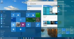 Cómo configurar el color de la barra de tareas del menú Inicio según el fondo del escritorio en Windows 10