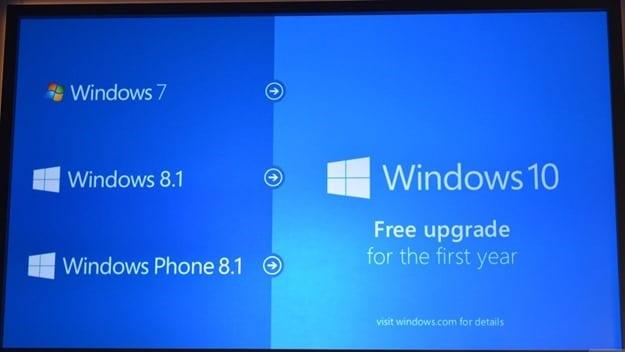microsoft windows 10 thumb - Microsoft Windows 10 será una actualización gratuita para todos los clientes que ejecuten Windows 7 y superior