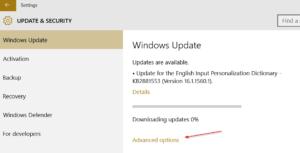 Cómo configurar para obtener Windows Update desde la red local e Internet en Windows 10