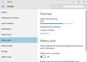 Consejo de Windows 10: qué aplicaciones y programas de escritorio han consumido su batería
