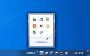 Consejo de Windows 10: Cómo hacer que un icono de área de notificación oculta se muestre en la barra de tareas
