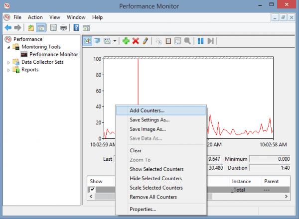 Monitor de rendimiento agregar contador 600x440 - 10 contadores de rendimiento importantes de Windows que debe conocer
