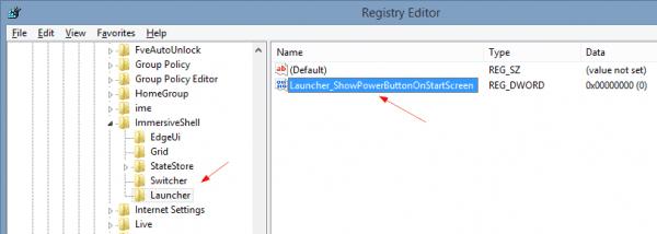 Editor del registro 2014 04 22 11 06 05 600x214 - Windows 8.1 Consejo: Alternar el botón de encendido en la pantalla de inicio