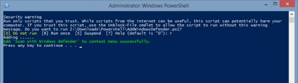 Agregar Windows Defender al menú contextual 600x167 - Agregar escaneo con Windows Defender al menú contextual de archivo en Windows 8