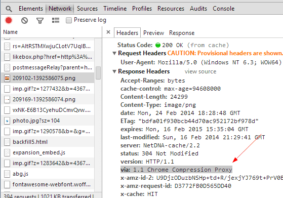 Proxy de compresión de Chrome a través de la herramienta de desarrollo: acelerar la navegación web en Chrome habilitando el proxy de compresión de datos
